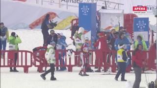 Лыжные гонки Женщины Спринт Классика 1,1 км 1. Давыденкова (Россия), 2017 XXVIII зимняя Универсиада
