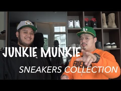 JUNKIE MUNKIE'S SNEAKER COLLECTION!