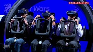 We survived the Samsung Gear VR 4D Experience