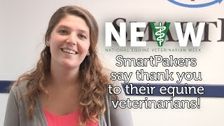 SmartPakers say thank you to their vets - National Equine Veterinarian Week