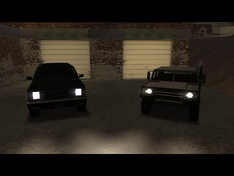 GTA SA: How to get the Patriot / FBI Rancher (San Fierro)
