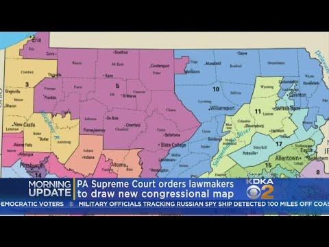 State Supreme Court Tosses Congressional District Map, Orders New One To Be Drawn