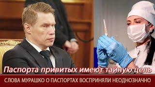 У паспортов для привитых от коронавируса россиян оказалась тайная цель Важно