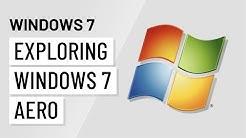 Windows 7: Exploring Windows 7 Aero
