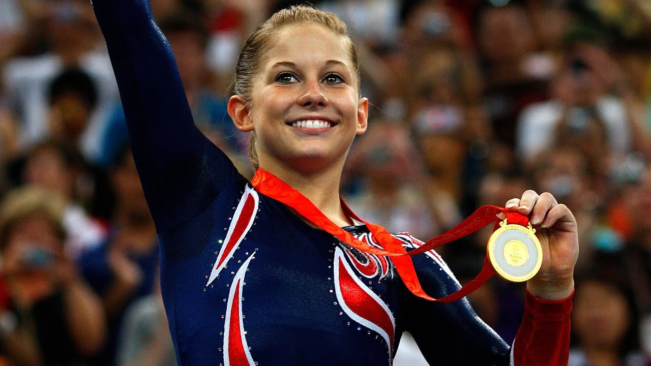 images Shawn Johnson 4 Olympic medals in gymnastics