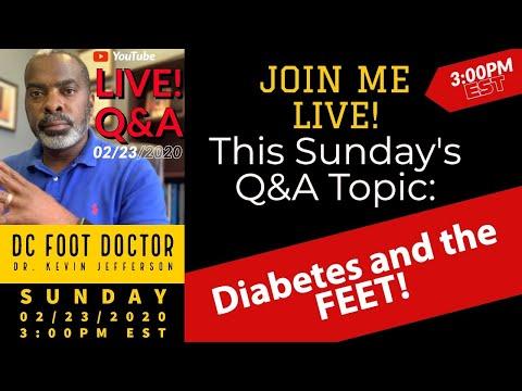 Live Q&A: Diabetes and the Feet
