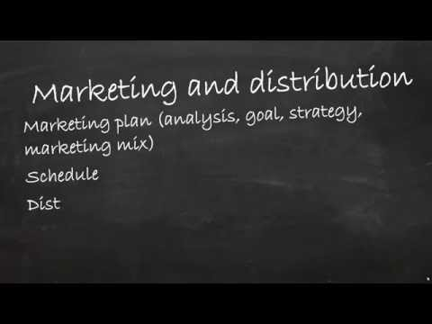 Business plan part 5 - market analysis