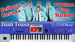 Amor y vida star band tutorial pianokey juan toasa