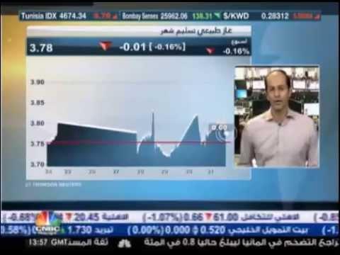 أشرف العايدي على سي ان بي سي العربية – 31 يوليو 2014 Chart