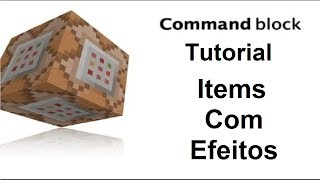 Minecraft Command Block #8 Items Com Efeitos