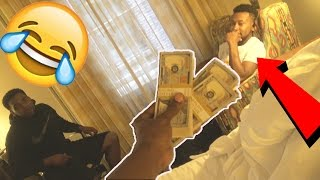 MAKING A RAPPER SELL HIS SOUL FOR $100,000 DOLLARS PRANK!(GONE RIGHT) MUST WATCH!