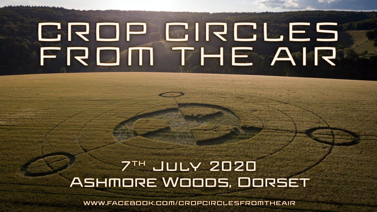 Crop Circle | 7th July 2020 | Ashmore Woods, Dorset | Crop Circles From The Air