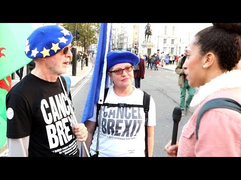 Asking Remainers: EU Commission OR Democracy? (Remainers EXPOSED)