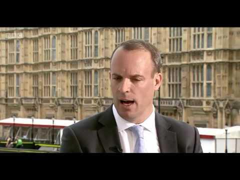 Dominic Raab - Osborne 'disloyal, unprofessional and self indulgent'