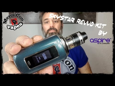 "Skystar Revvo Kit by Aspire ""Ελληνική Παρουσίαση"" ""Greek review"""
