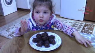 3 Malzemeli İkramlık Bonbonlar -  Çikolatalı tarifler