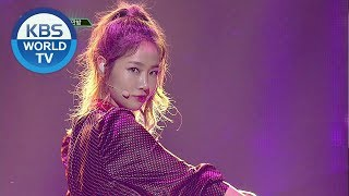 SOYOU - All Night | 소유 - 까만 밤 [Music Bank  / 2018.10.12]