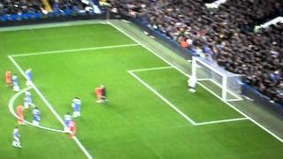 Andy Carroll Penalty at Stamford Bridge 29/11/2011