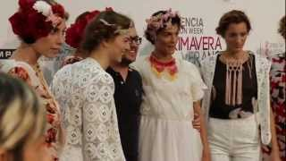 Guillermo Del Mar P/V 2013 Madame Butterfly Valencia Fashion Week BACKSTAGE