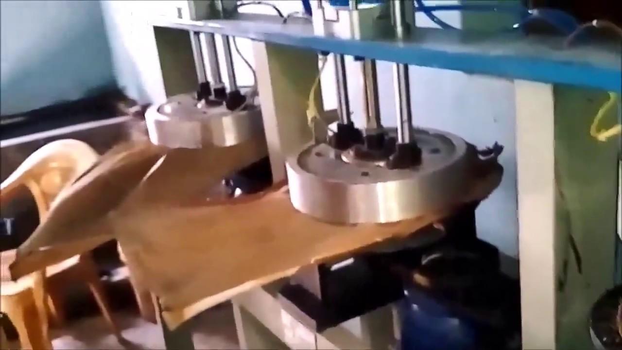 Automated Arecanut Leaf Plate Making Machine Mob- +91 9481091253