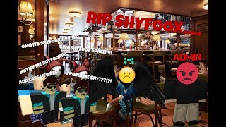 SHYFOOX GETS IN TROUBLE! - ROBLOX Shyfoox Encounter
