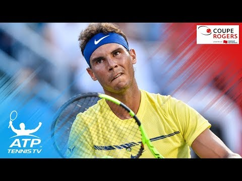 Hawk-Eye blip confuses Nadal, Coric and umpire | Coupe Rogers 2017