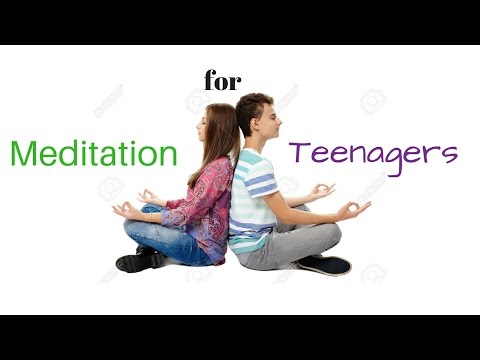 Meditation for Teenagers Stress & Anxiety - Guided Meditation for Teens