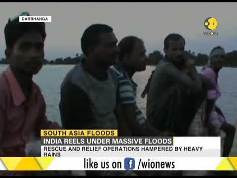 Floods in India, Nepal and Bangladesh kill over 1500