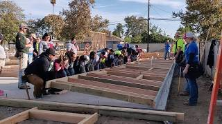 Habitat Greater Fresno_ Amador Wall Raising 10.19.19