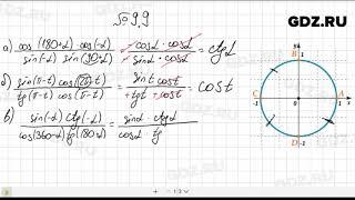 № 9.9- Алгебра 10-11 класс Мордкович