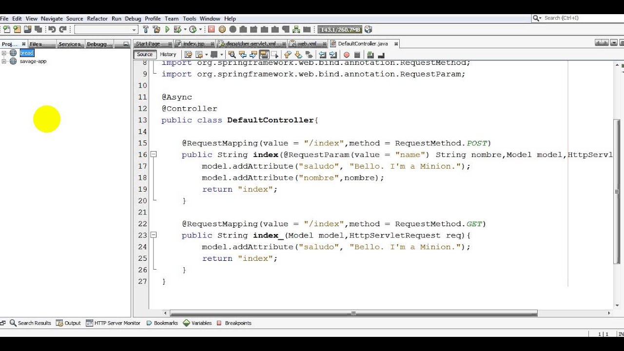Spring mvc example in netbeans no audio youtube spring mvc example in netbeans no audio baditri Gallery