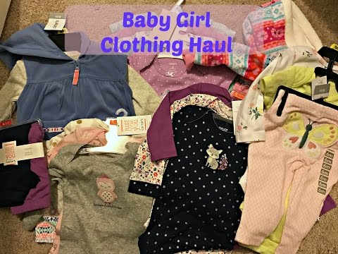 Huge Baby Girl Clothing Haul 3 months - 6 months