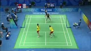 China vs Japan - Women's Badminton Doubles - Beijing 2008 Summer Olympic Games