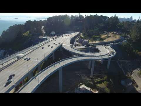 I-80 Yerba Buena Island Bay Bridge ramps