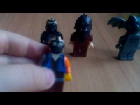 Лего фигурки ужастики