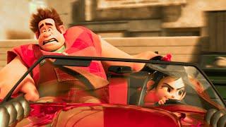 Slaughter Race Scene - WRECK-IT RALPH 2 (2018) Movie Clip