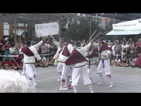 Alarde de danzas de Trabudu Dantzari Taldea