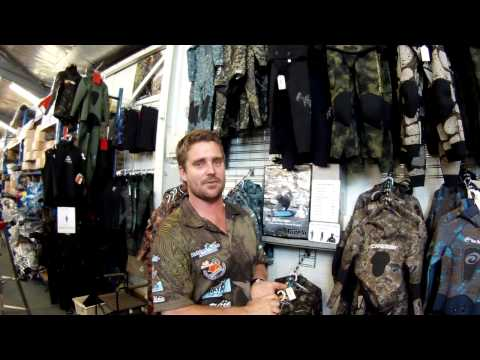 USFA Selecting Spear Fishing Wetsuit And Gloves