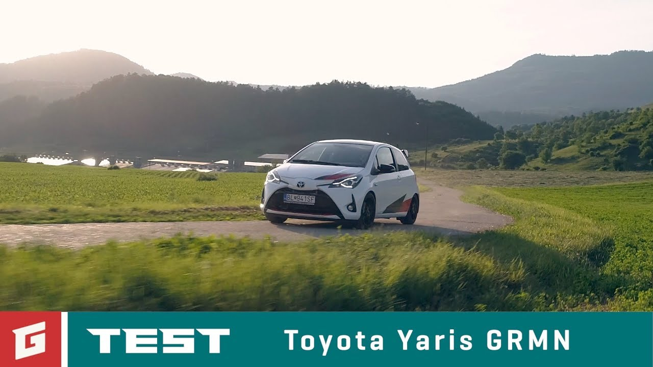 Toyota Yaris GRMN - Hot Hatch - TEST - GARAZ.TV - YouTube