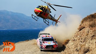 Best of WRC Helicopter Action - Rally Turkey 2020