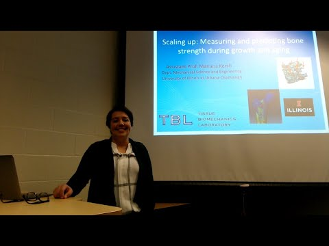 Dr. Mariana Kersh - The scaling up of biological strength