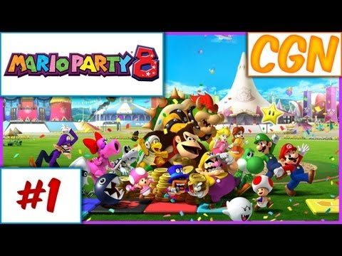 Mario Party 8 - Ep1 w/ The Creatures (CGN)