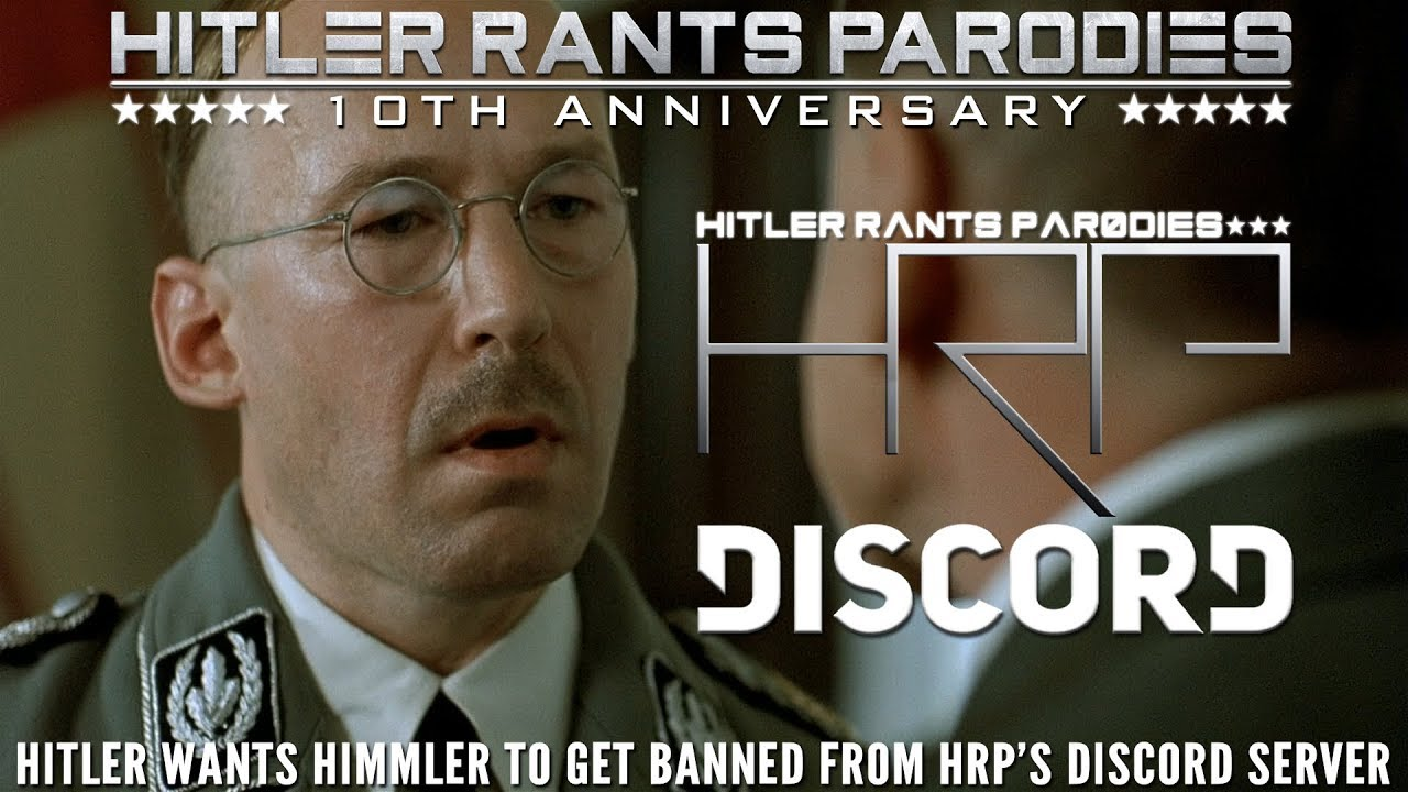 Hitler wants Himmler to get banned from HRP's Discord server