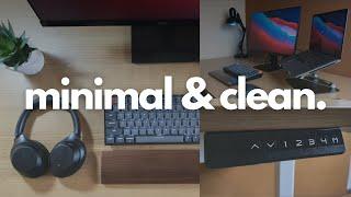 Meja Kerja Minimalis   Clean & Minimal Desk Setup 2021   Minimalism Indonesia
