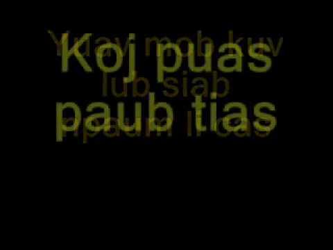 Mi Noog Hmong Lyrics
