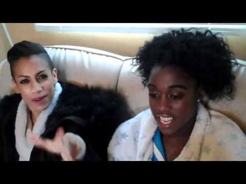 Fast Girls - Behind the scenes with Lenora Crichlow