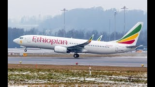 Ethiopian Airlines Inaugural Flight - VICTORIA FALLS ZIMBABWE 2017