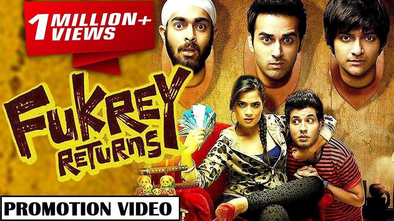 Download Fukrey Returns (फुकरे रिटर्न्स) 8 December 2017 Bollywood Full Movie Promotion Video - Richa Chadha