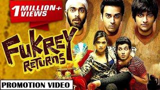 Fukrey Returns (फुकरे रिटर्न्स) 8 December 2017 Bollywood Full Movie Promotion Video - Richa Chadha