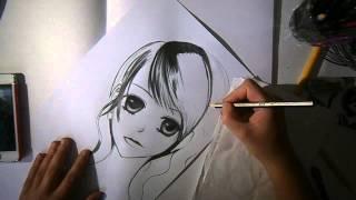 SPEED DRAWING MANGA: Dengeki Daisy
